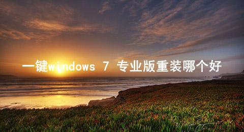 一键windows 7 专业版重装哪个好