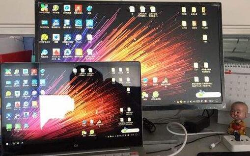 笔记本怎么外接显示器