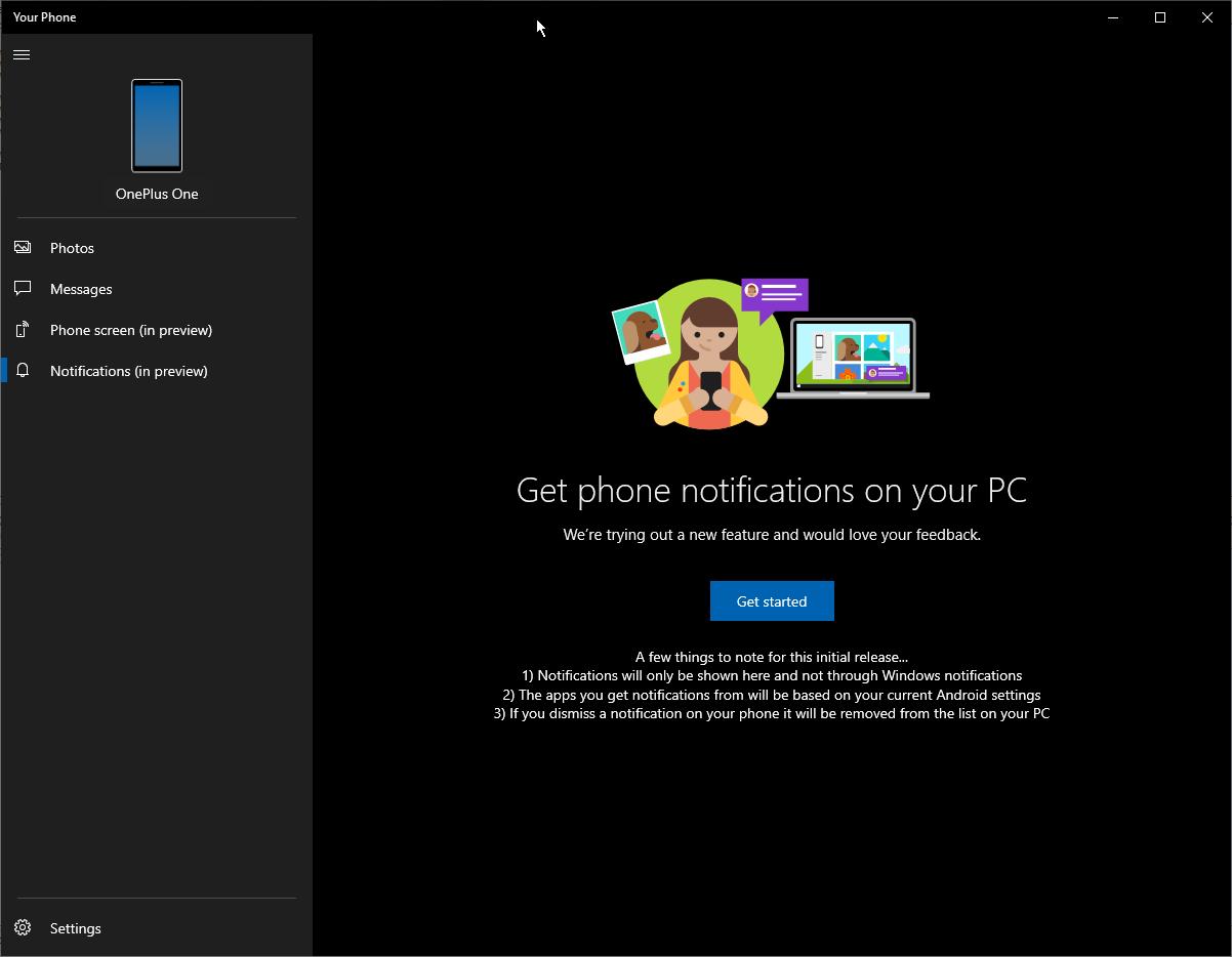 Windows10新姿势:可通过Your Phone应用控制手机