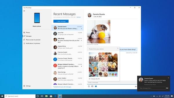 Windows10 20H1预览版正式发布:Your Phone有重大更新!