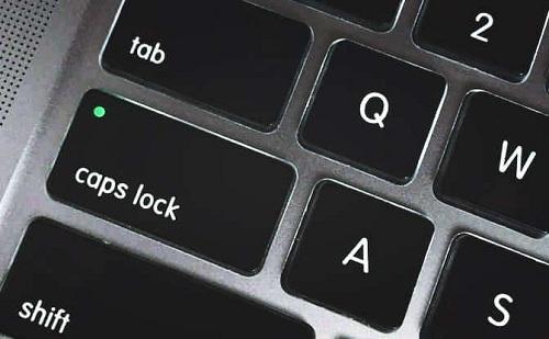caps是哪个键?