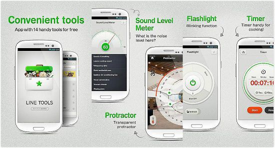 Line Tools:一个实用生活工具App