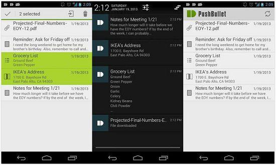 Pushbullet:一款支持电脑与手机快速互传档案的软件